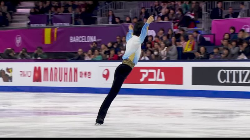 Yuzuru Hanyu 羽生結弦 — Ballade No. 1 in G minor, Op. 23 GPF-2015 (4K) Yonkaiten Pixel
