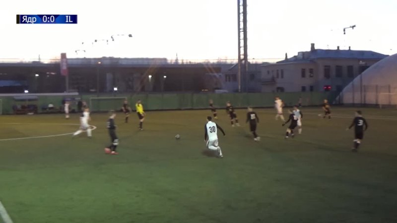 Обзор матча ФК «Ядро» VS ФК «Интер Лесгафта»