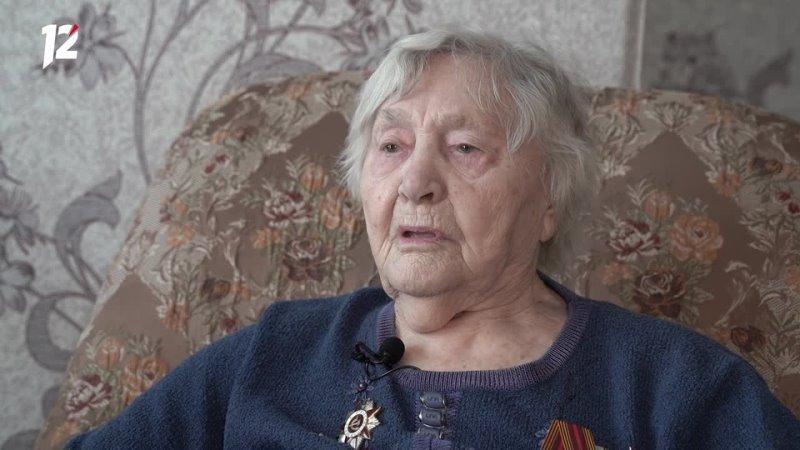 В Омске 100 летний юбилей отметила ветеран Великой Отечественной войны Нина Скороходова