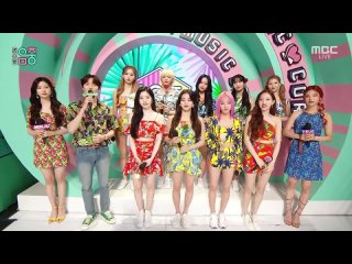 Twice Interview  Alcohol-Free  On MBC Music Core 210612