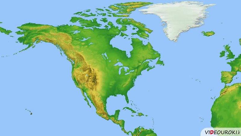 Северная Америка. Географическое положение и история исследования