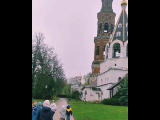 🕊️💠💠💠💠💠💠💠💠💠🕊️Сегодня в продолжение празднования Воскресения Христова посетили с ребятами Иоанно-Богословский мужской монастырь