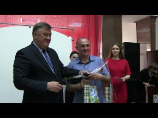 Встреча с главой администрации Борисовского района Н.Давыдовым участников ликвидации ЧАЭС