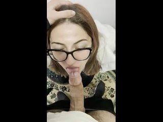Приняла Член Прямо в Глотку   Deepthroat Porn   Горловой Минет Порно This belongs here