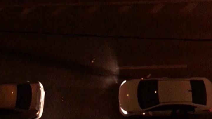 Типичный каршеринг влетел в припаркованную машину на набережной реки Фонтанки 39. Все живы.