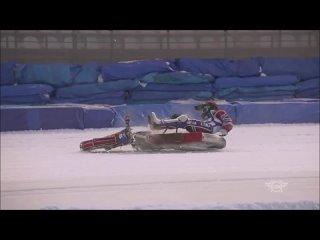FIM Ice Speedway Gladiators World Championship :TOP-3 crash