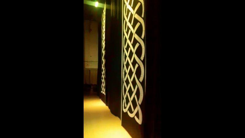 Декорации и свет Dance of the Celts
