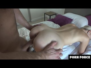 Lika Star - Gorgeous Blonde Teen Uses Her Mouth, Pussy and Ass To Satisfy His Bi
