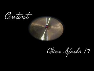 Centent cymbals - SPARKS 17 China