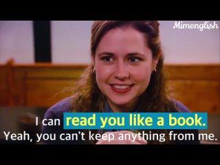 Read like a book / Mimenglish