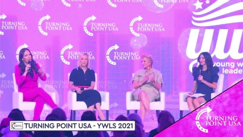TPUSA · Brooke Rollins Linda McMahon Paula White en la Cumbre de Liderazgo para Mujeres Jóvenes