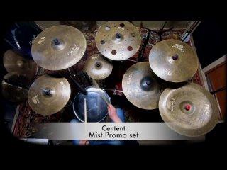 Centent cymbals MIST series B20 promo set