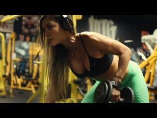 ANLLELA SAGRA - Hot fitness model workout compilation 2021
