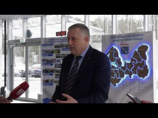 Рабочая поездка губернатора Ленинградской области Александра Дрозденко в Сосновый Бор
