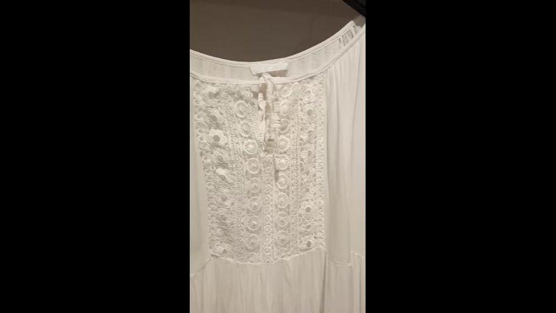 блуза белая кружева шорты белые лен