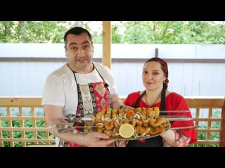 Как Цыганка, Армянина к рыбе приучила, шашлыки из рыбы от канала, ГАЛИНА КУХНЯ!!!