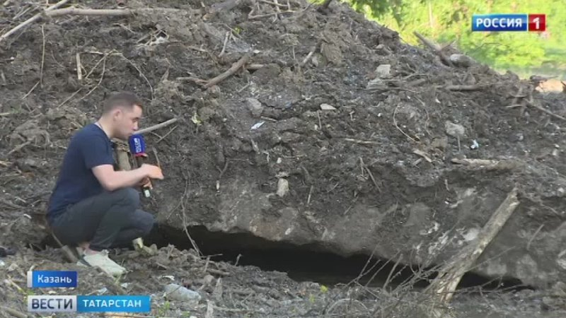 Экологическая катастрофа в Казани пляж Локомотив до сих пор не привели в порядок после снежной зимы