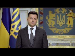 Зеленский записал видеообращение, в котором предложил Путину встретиться в Донбассе