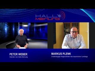 Politische Macht und Korruption Peter Weber im Gespräch mit Markus Plenk, MdL