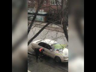 Мойка машина в центре Иркутска