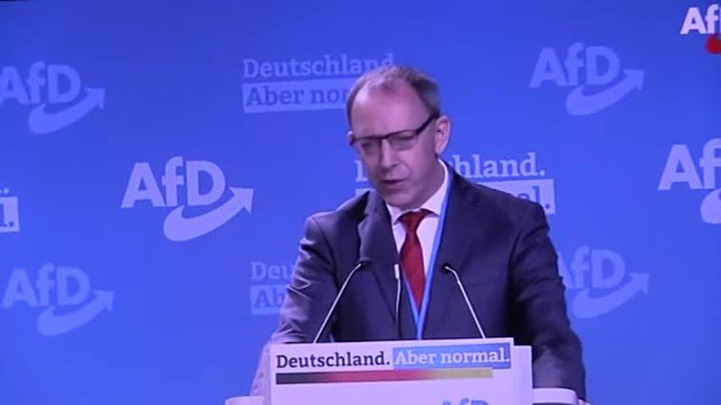 12 AfD Parteitag Machen wir die Bundestagswahl zur Abrechnung mit Merkel Jörg Urban AfD 10 04 21