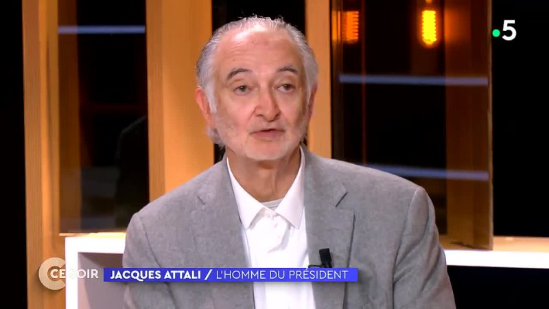 Jacques Attali Mon pronostic aujourd'hui c'est que Marine Le Pen va être élue
