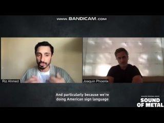 Хоакин Феникс в беседе с Ризом Ахмедом,  (часть 3 из 3)