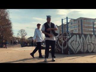 Hip-hop freestyle. Рома и Паша