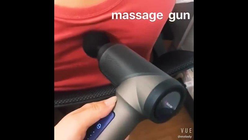 Пистолет для массажа мышечной боли, для тренировок и упражнений, расслабления тела, похудения, облегчения боли