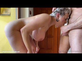 соблазнила мойщика окон OnlyFans Angel Wicky 1080 Sex Milf POV Big Tits boobs Ass Porn Gonzo Hardcore anal порно анал милф