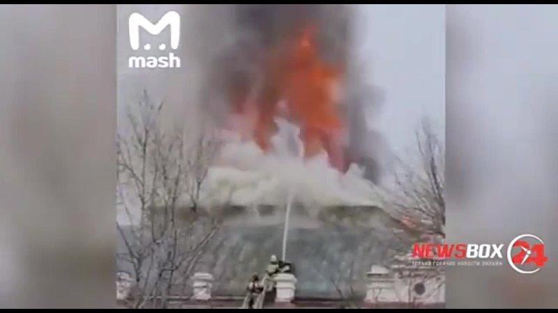 В Благовещенске врачи кардиохирурги оперировали пациента во время пожара в здании
