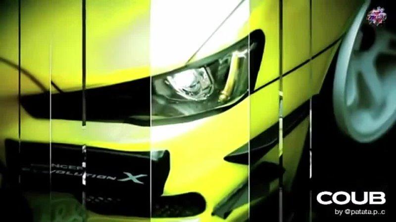 Mitsubishi Lancer Evolution Track RIOT SYN KOU