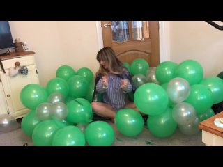 LITTLE PS Perfectly Imperfect World - SLYTHERIN HARRY POTTER THEMED BALLOON ARCH CLEAR AWAY CHALLENGE