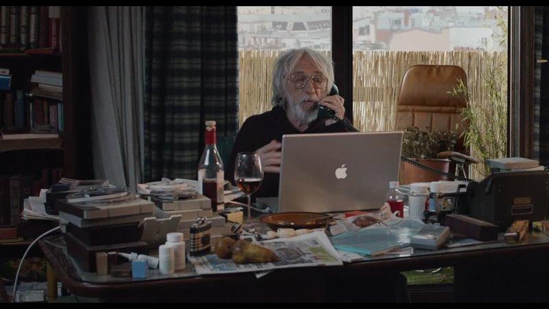 Фрагмент хф Мистер Штайн идёт в Un profil pour deux (2017) Фр., реж. Стефан Робели