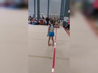 Вольные упражнения Артёма на Olympico Baby Cup