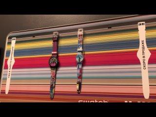 За временем следить куда приятнее, если его показывают стрелки часов от Swatch 🕐
