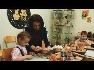 Развивающие занятия для детей от 3 до 8 лет в Доме Медвежайки!