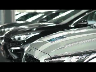 Вручение автомобиля партнерам нашего проекта