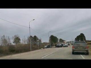 ДТП по дороге в чистые Ключи