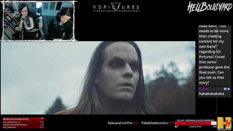 Маттео и Кьяра о съёмках видео Стрим на Twitch 20 03 2021 г In Silence