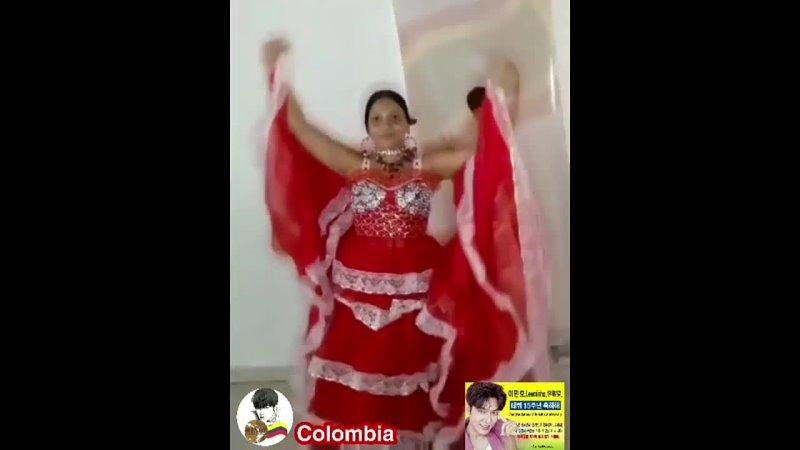 Флешмоб Национальный танец Миноз Коломбии