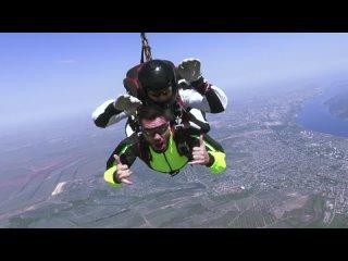 прыжок с вертолета  / полёт / 3000 метров /