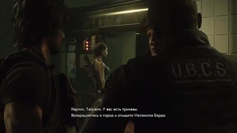 Прохождение Resident Evil 3 Remake Часть 4 Полицейский участок Офис S T A R S