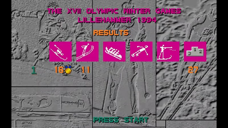 Winter Olympics Lillehammer 94 (PC DOS) 1993, U.S. Gold