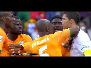 Cristiano Ronaldo Vs Ivory Coast 2010 Fifa World Cup