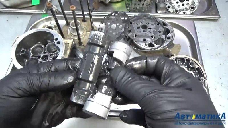 Компрессор автокондиционера масляное голодание компрессор в разборке