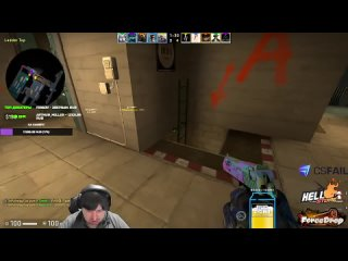 """""""Как же он еб#т!""""  s1mple clean 4K with AK vs Team Dosia."""