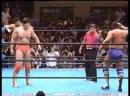 Dan Kroffat Doug Furnas c vs. Kenta Kobashi Tsuyoshi Kikuchi - 25.05.1992 AJPW Super Power Series 1992 - Day 8