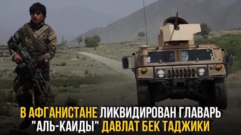 В Афганистане ликвидирован главарь аль Каиды Давлат Бек Таджики
