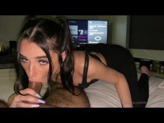 Папочка дай мне пососать пожалуйста, кончи в мой рот как конченной хуесоске (домашнее порно минет Mackenzie Jones onlyfans) - HD